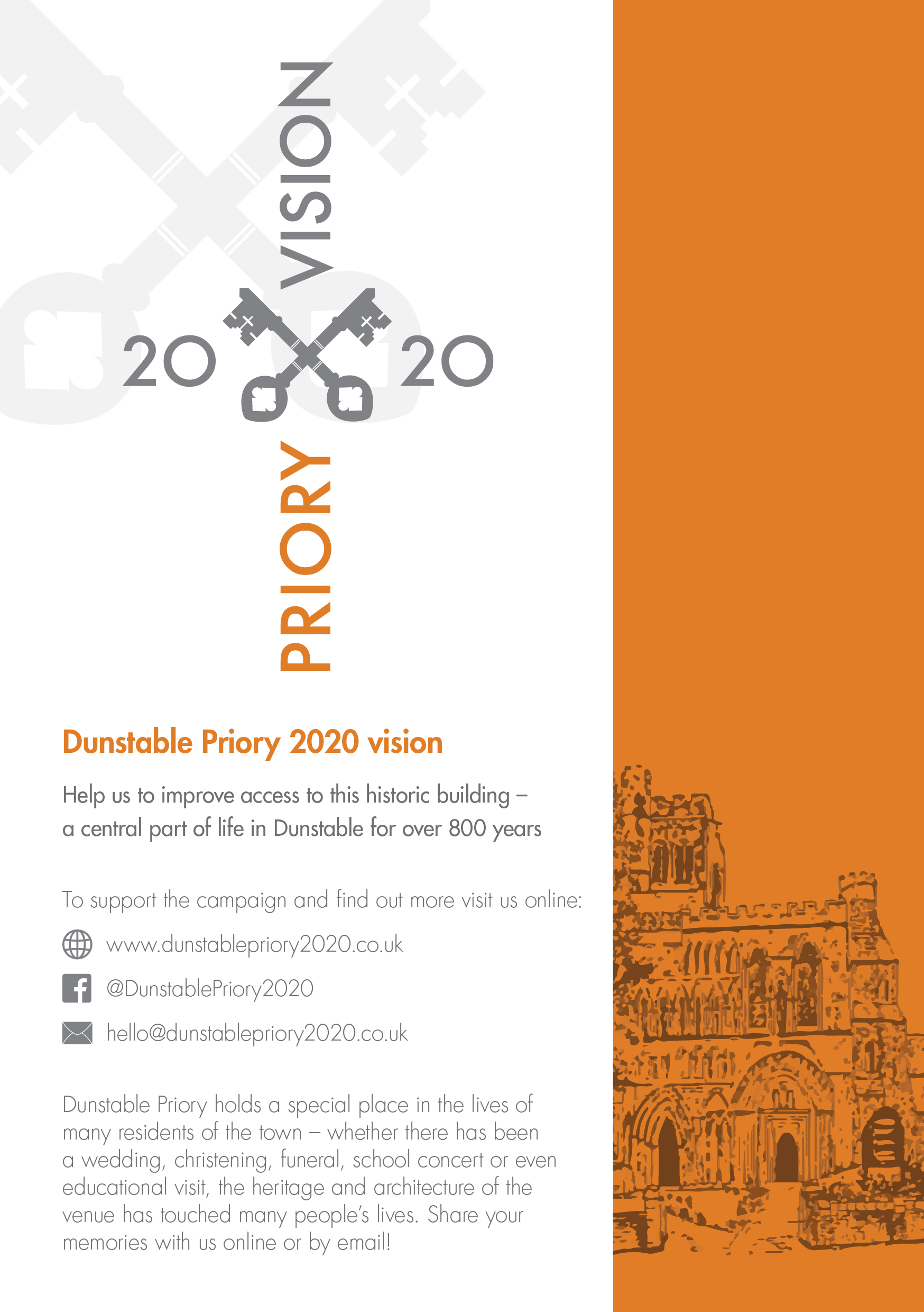 Church Priory 2020 leavepiece page 1