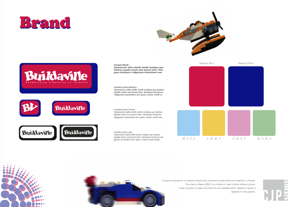 Buildaville brand summary