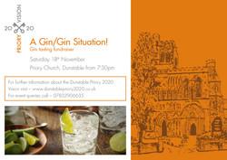 Priory share 2020 Gin night invite