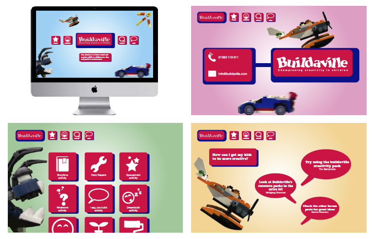Buildaville website