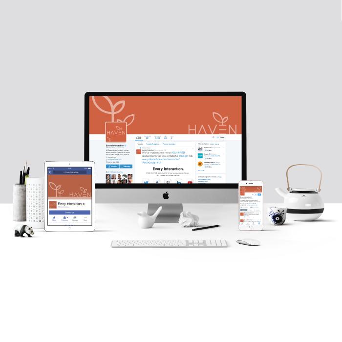 Haven social media