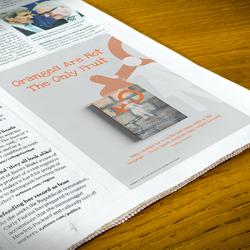 Concept newspaper advert