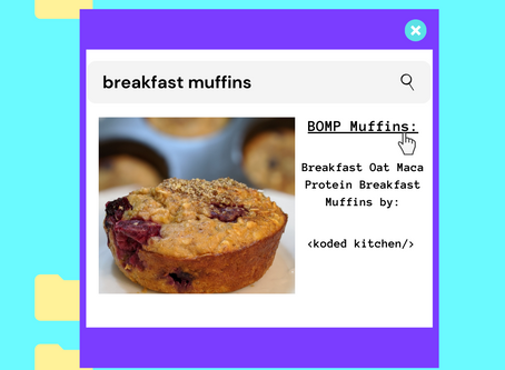 Banana Oat Maca Protein Muffins (BOMP): Koded Kitchen
