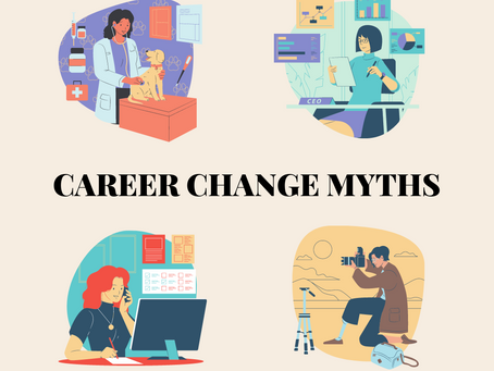 Debunking 6 Myths of The Career Pivot