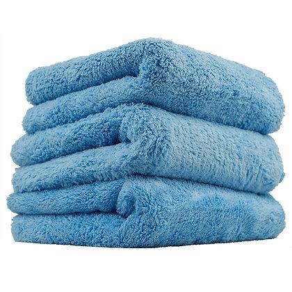 "Edgeless Microfiber Towel 16""x16"" Blue 3 Pack"