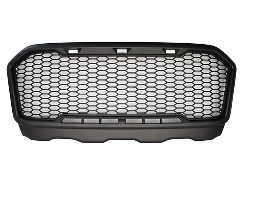 Large Oversized F150 Mesh Grille - Stealth Look