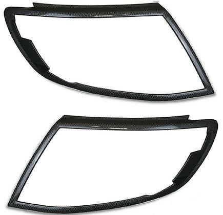 Carbon Fibre Look Headlight Covers