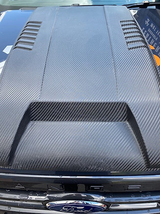 Bonnet Scoop - Carbon Look