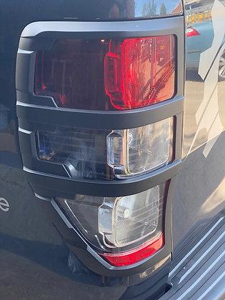 Tail Light Covers - Matte black