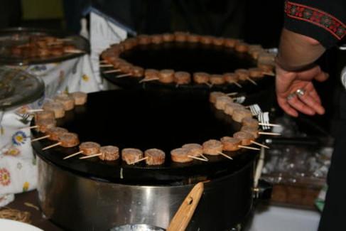 Roulés toasts de galettes grillé
