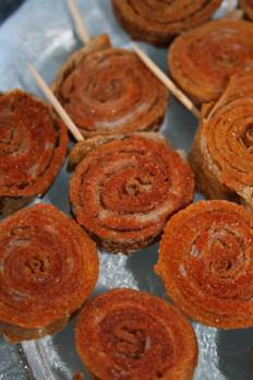 Roulés de galettes sarazin