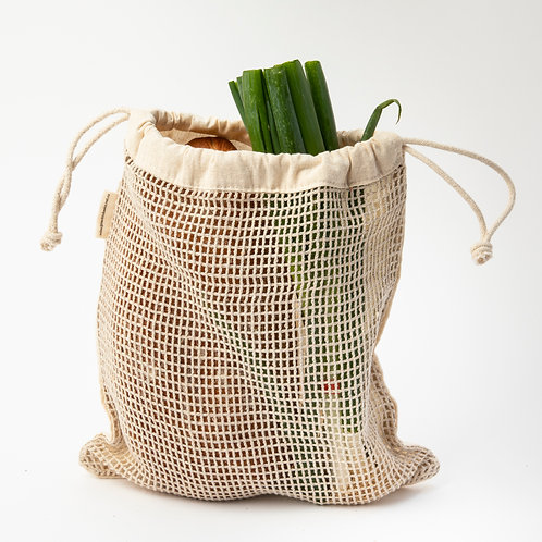 Cotton & Net produce bag