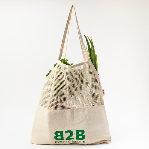 String & Canvas Base Tote