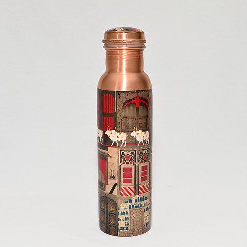 Doors of Mystical Wonder Copper Drink Bottle