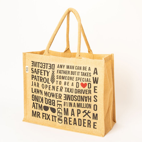 Natural Jute carry bag for D♥D