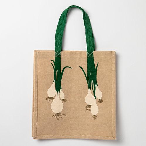 Natural jute carry bag