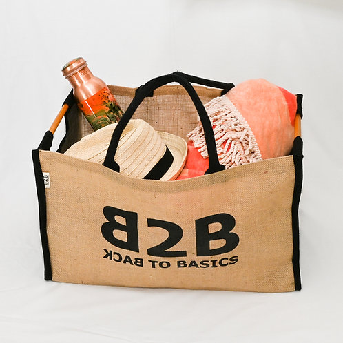 Jute Box Style Shopper