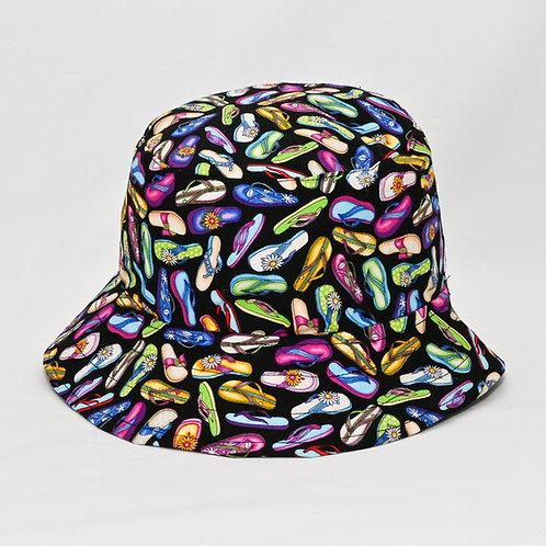 Kiwi Jandals Bucket Hat