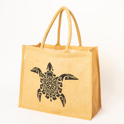 Natural jute carry bag