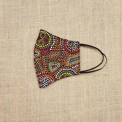 Face Mask Indigenous Australian