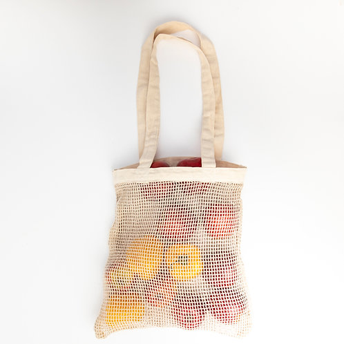 Cotton net bag ( 2 bags)