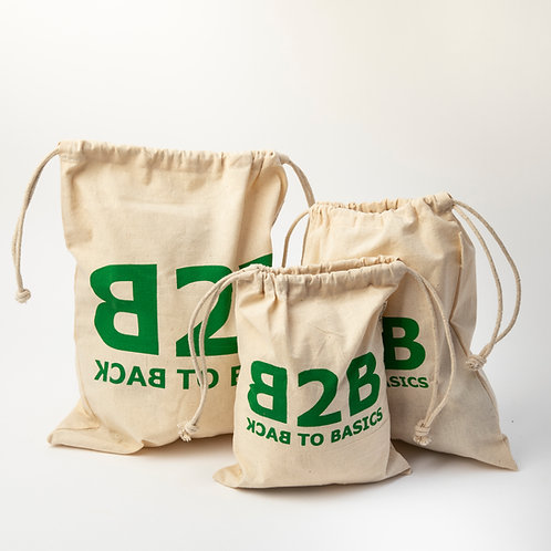 Cotton Produce Bags (Set Of 3)