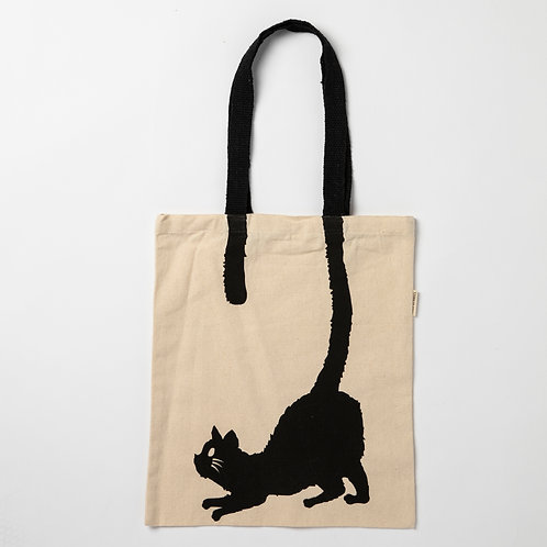 Cat tail tote carry bag