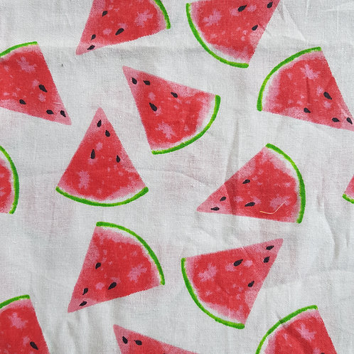 Face Mask Watermelon with Drawstring Bag