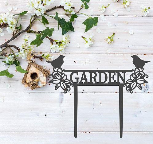 """Garden Stake - 14.5"""" x 11.5"""""""