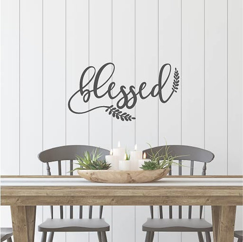 "Blessed Laurel Leaves - 20"" x 11"""