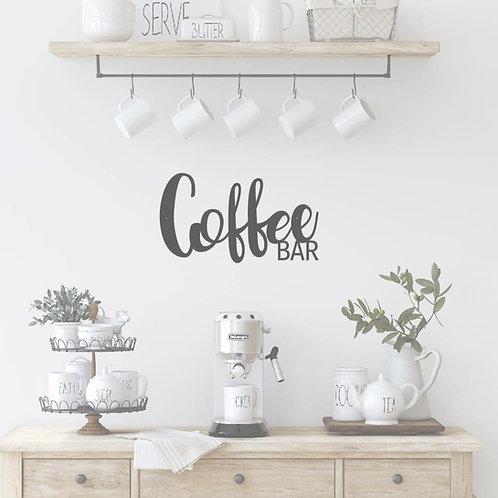 "Coffee Bar - 15"" x 8.5"""