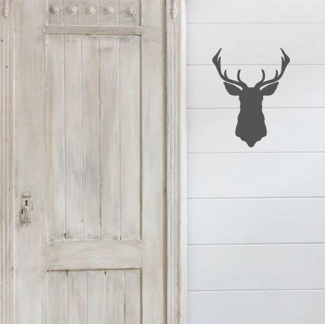 """Deer Silhouette - 12"""" x 9.5"""""""