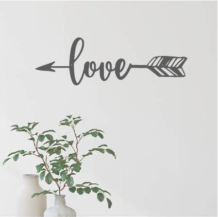"Love Arrow - 16"" x 5.5"""