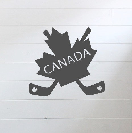 "Canada Cross Sticks - 16"" x 14.5"""