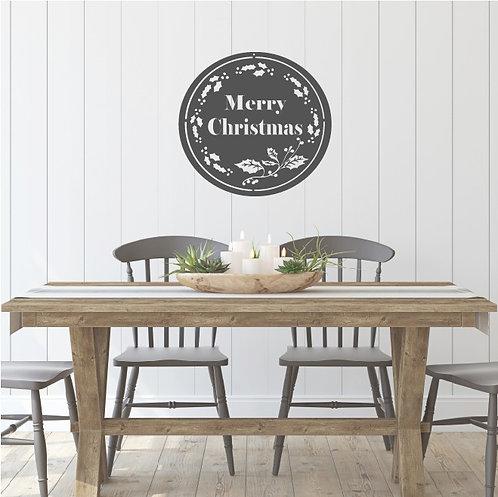 "Merry Christmas Circle - 15"""