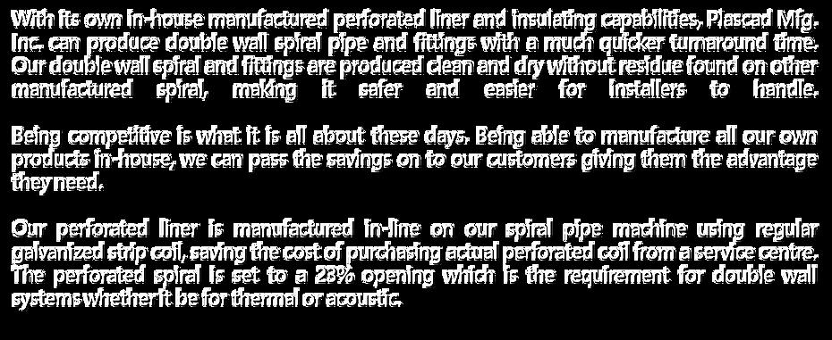 Plascad Manufacturing Inc.