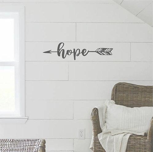 """Hope Arrow - 16"""" x 4"""""""