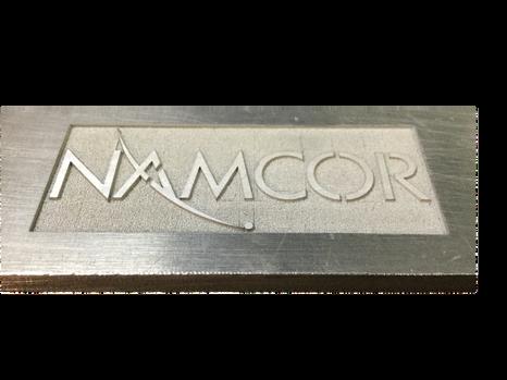 """Custom Laser Etching 1/4"""" Aluminum"""