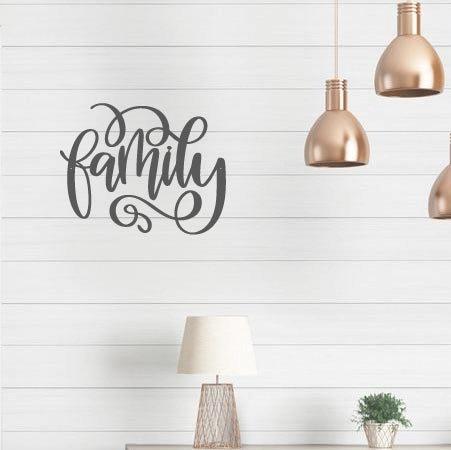 "Family - 12"" x 9"""
