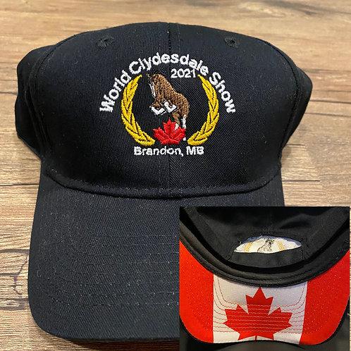 Black Twill Hat
