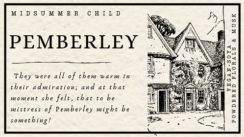Pemberley Candle