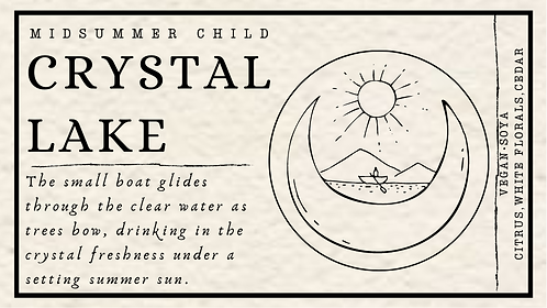 Crystal Lake Candle