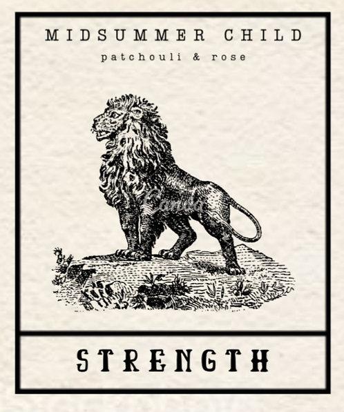 Strength Tarot Candle