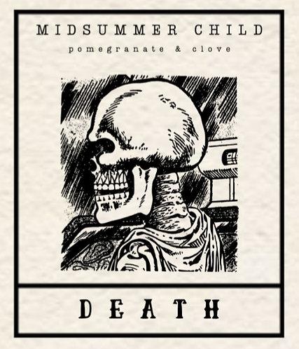 Death Tarot Candle
