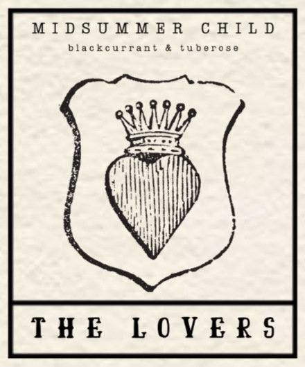 The Lovers Tarot Candle