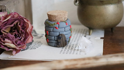 Castle Keep Protection Spell Jar