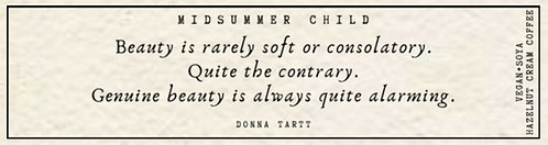 Donna Tartt Quote Candle