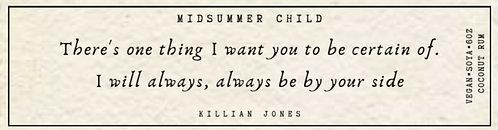 Killian Jones Quote Candle
