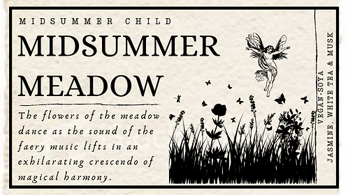 Midsummer Meadow Candle