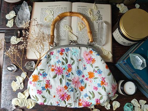Vintage Laura Ashley Floral Bag